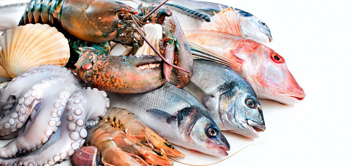Nombres aceptables de pescados y mariscos